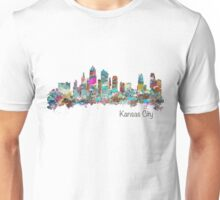 Kansas City Skyline - Color Unisex T-Shirt