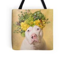 Flower Power, Sky Tote Bag