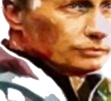Vladimir Putin - Flowers Sticker