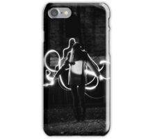 Electric Light Painting iPhone Case/Skin