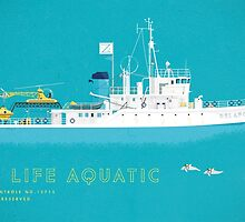 The Life Aquatic with Steve Zissou by steeeeee