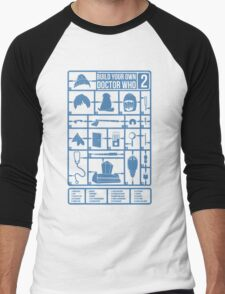 Build Your Own Doctor Who 2 Men's Baseball ¾ T-Shirt