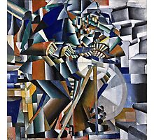 Kazimir Malevich - The Knife Grinder Or Principle Of Glittering  Photographic Print