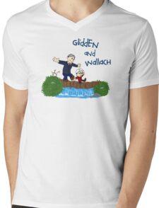 Dr. Glidden & Dr. Wallach mashup Mens V-Neck T-Shirt