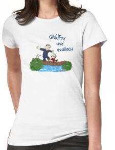 Dr. Glidden & Dr. Wallach mashup Womens Fitted T-Shirt