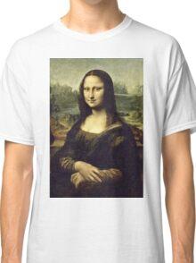 Leonardo Da Vinci - La Joconde, Portrait De Monna Lisa  Classic T-Shirt