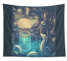 Healing spring Wall Tapestry