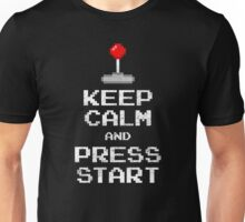 Keep Calm & Press Start Unisex T-Shirt
