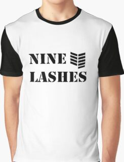 Nine Lashes Graphic T-Shirt
