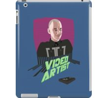 Knox Harrington, The Video Artist iPad Case/Skin