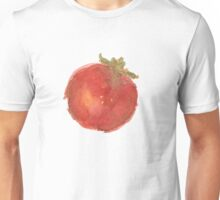 Red Watercolor Tomato Unisex T-Shirt