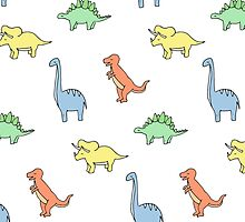 Primary Dinosaurs  by Holly Astle
