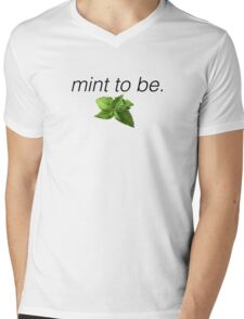 japril - mint to be t-shirts Mens V-Neck T-Shirt