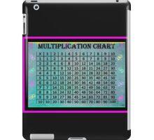 Multiplication Chart iPad Case/Skin