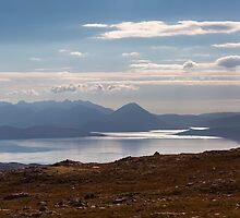 The Isle of Skye From The Applecross Pass by derekbeattie