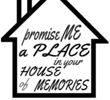 House of memories Sticker