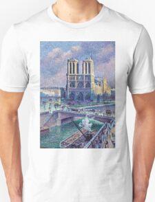 Maximilien Luce Notre Dame De Paris 1900  Unisex T-Shirt