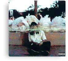 SESH garbage mixtape cover Canvas Print