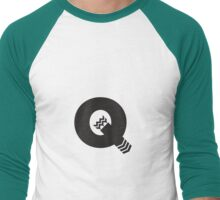 Q is for Quiver - Black Men's Baseball ¾ T-Shirt