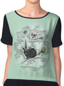 Flight of the Witch Bunnies Chiffon Top
