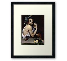 Michelangelo Merisi Da Caravaggio - The Sick Bacchus  Framed Print