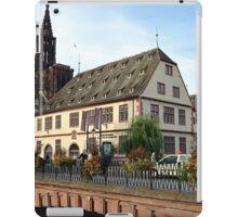 Strasbourg Old Town, France iPad Case/Skin
