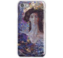 Mikhail Vrubel - Six Winged Seraphim 1904 iPhone Case/Skin