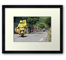 Tour de France 2014 - Peleton Stage 17 Framed Print