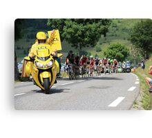 Tour de France 2014 - Peleton Stage 17 Canvas Print