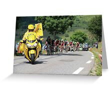 Tour de France 2014 - Peleton Stage 17 Greeting Card