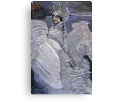 Mikhail Vrubel - Swan Princess 1900 Canvas Print