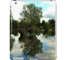 Reflecting By Storm Black iPad Case/Skin