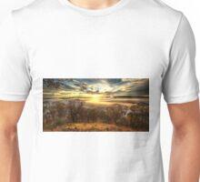 June daybreak, Ovens Valley Unisex T-Shirt