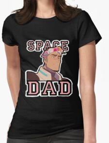 Space Dad Womens Fitted T-Shirt