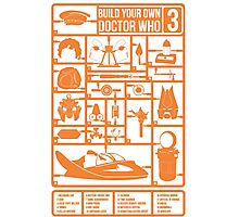 Build Your Own Doctor Who 3 Photographic Print