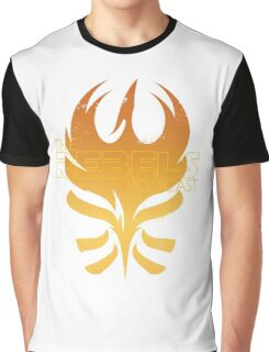 The Rebels Podcast Phoenix Flame Graphic T-Shirt
