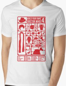 Build Your Own Doctor Who 4 Mens V-Neck T-Shirt