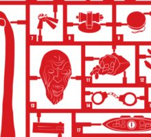 Build Your Own Doctor Who 4 Sticker