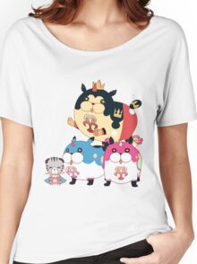 Meow Wow and Friends Women's Relaxed Fit T-Shirt