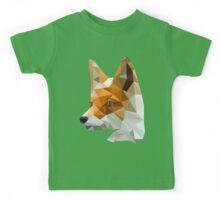 Low poly fox Kids Tee