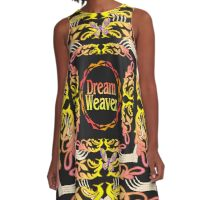 Dream Weaver Gold Rush A-Line Dress