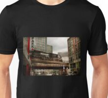 Train - Pittsburg Pa - The industrial city Unisex T-Shirt