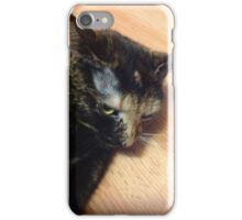 Mad cat  iPhone Case/Skin
