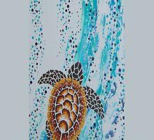 Aboriginal Sea Turtle Case by Ron Hannah