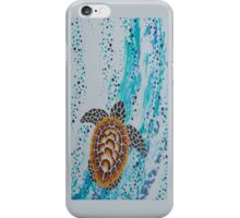 Aboriginal Sea Turtle Case iPhone Case/Skin