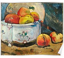Paul Gauguin - Still Life with Peaches ( 1889)  Poster