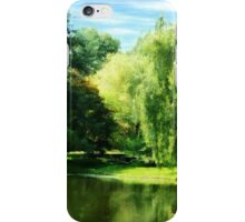 Willow By the Lake iPhone Case/Skin