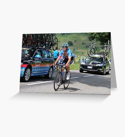 Tour de France 2014 - Jack Bauer - New Zealand Greeting Card