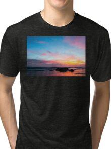 Sunset Handry's Beach Tri-blend T-Shirt