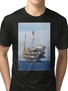 Oil Rig Tri-blend T-Shirt